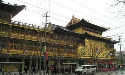 现在的上海静安寺
