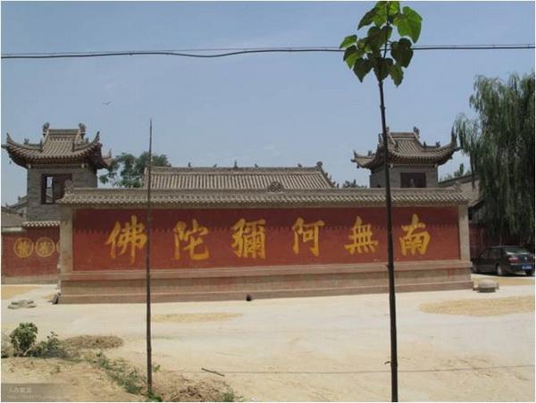 陕西乾县的铁佛寺